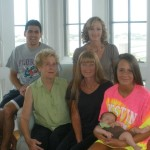 Dustin Grandma Aunts and Cousin