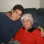 Dustin and Grandma