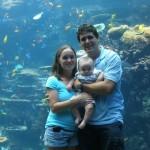 Rebecca Dustin Michael at Georgia Aquarium