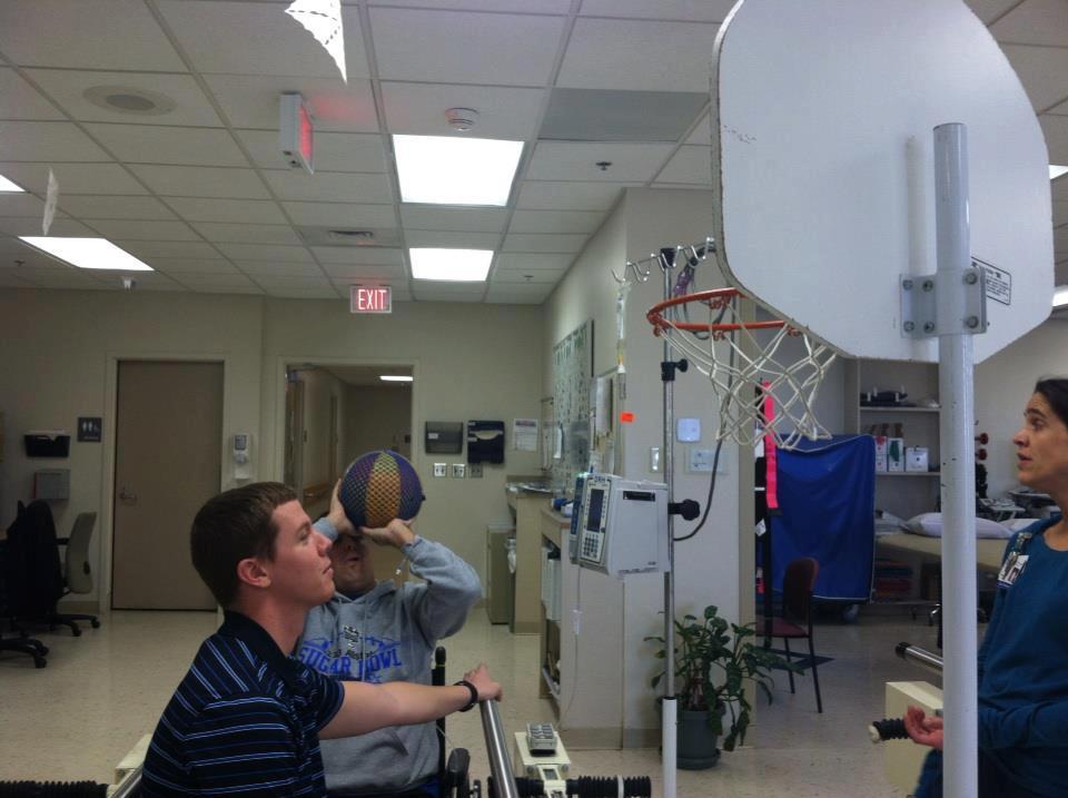 Dustin Rhodes -Basketball 1 - Glioblastoma Multiforme - brain cancer