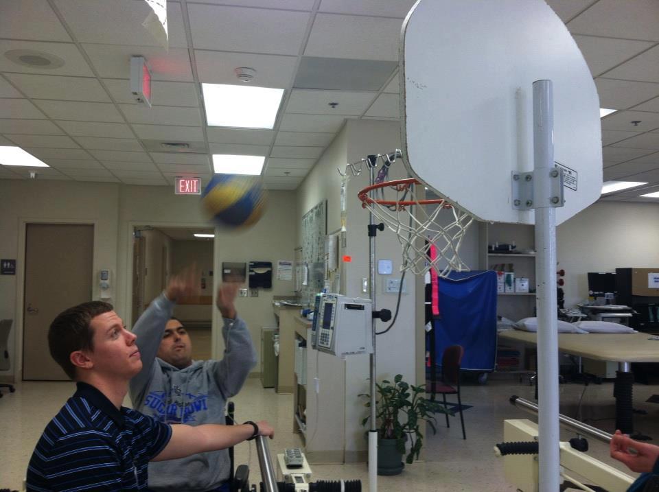 Dustin Rhodes -Basketball 2 - Glioblastoma Multiforme - brain cancer