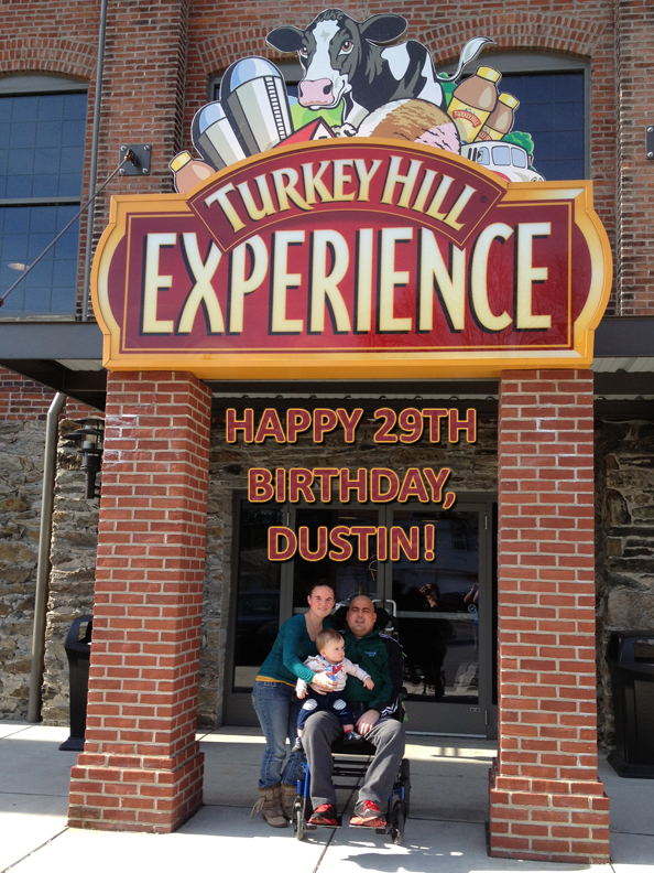 Dustin_Rhodes_Birthday_Turkey_Hill_Experience